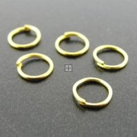Jumpring 5mm Goldtone 500g