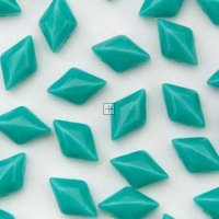 Gemduo 8x5mm 8g Turquoise Green Opaque