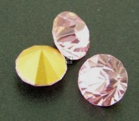Chaton Faceted Gold Foiled SS-22 4.9 to 5.0 mm Rose 20 pcs