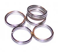 Splitring 5mm Antique Silver 500g