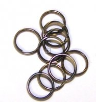 Splitring 5mm Black Nickel 500g