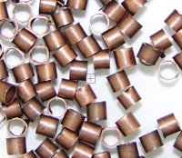 Crimp tube 1.5 mm Antique Copper 1000pcs