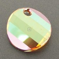 Swarovski Twist Pendant 18mm Cr Copper