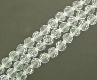 Crystal Glass Faceted Round 10mm 70pcs Crystal