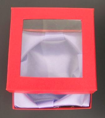 Bracelet Box With Lid 8.6cm Red 1pcs