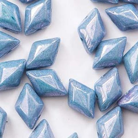 Gemduo 8x5mm 8g Chalk Blue Luster