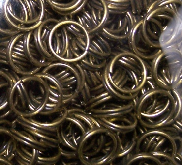 Jumprings 7mm Antique Bronze 144pcs