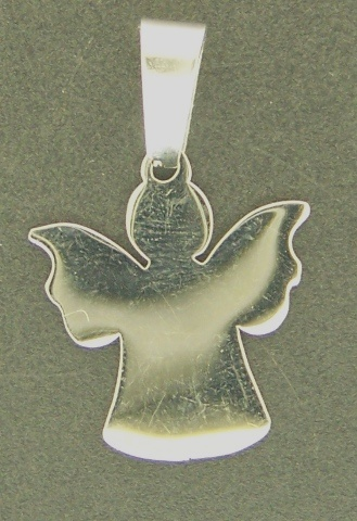 Pendant Assorted 1pc Stainless Steel Angel