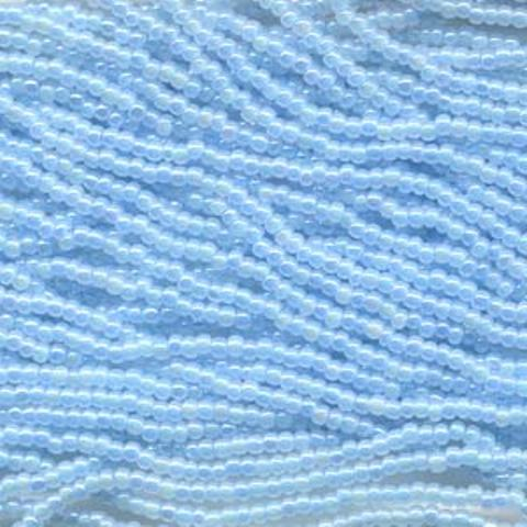 Czech Seed Beads Size 8/0 6-Strand Blue Cylon AB