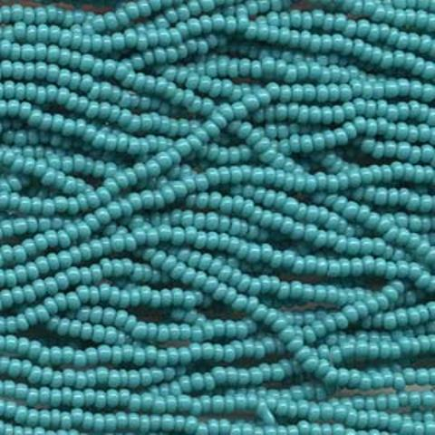 Czech Seed Beads Size 11/0 6-Strand 6St Green Turquoise