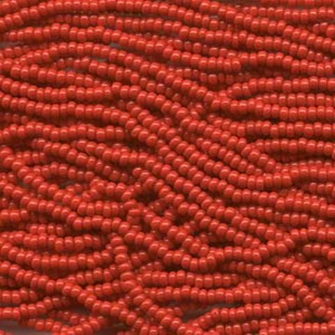 Czech Seed Beads Size 8/0 6-Strand 6St Red